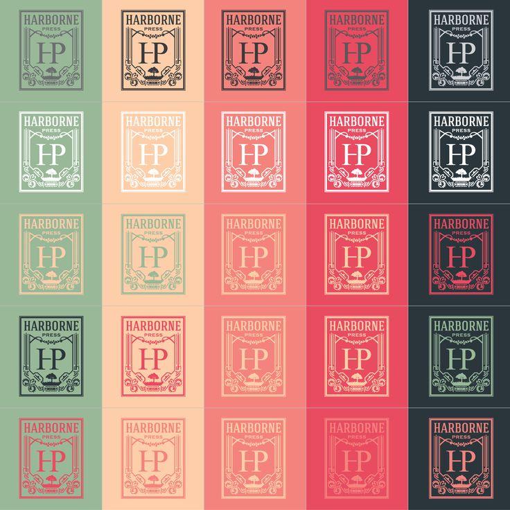 Vintage press logo.