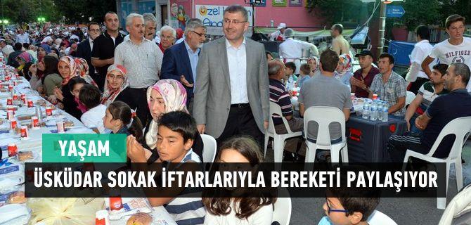Üsküdar Belediyesi tarafından düzenlenen sokak iftarları hızla devam ediyor. Son olarak Bulgurlu Mahallesi'nde düzenlenen iftara mahalleliler tarafından yoğun ilgi gösterildi.