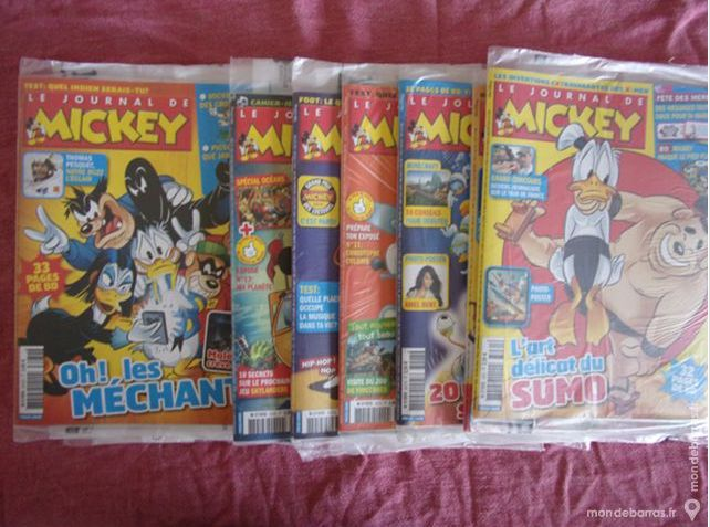 Petit moment nostalgie  http://www.mondebarras.fr/annonce/672409/livres-bandes-dessinees-massy-lot-journal-mickey-neuf-stardust-stardust