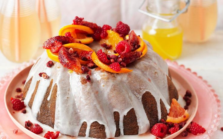 Drizzled with a creamy yoghurt topping and sticky orange syrup, this honey muscat syrup cake is simply irresistible! Enjoy a little slice of heaven with your morning tea or for an easy dessert - recipe by The Australian Women's Weekly.