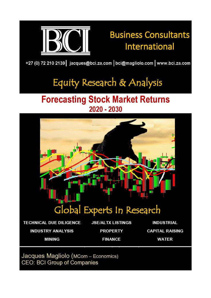 Continuous in-depth research, analysis and forecasts on global/SA markets