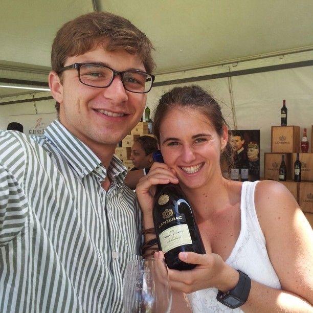 Lanzerac. Altyd 'n fave #lanzerac #wine #stellenboschwinefest #chardonnay