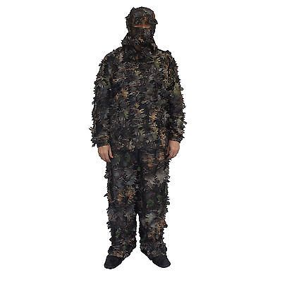 Ghillie Suits 177870: 3D Leafy Camo Ghillie Suit For Hunting Forest Small Game -> BUY IT NOW ONLY: $49.99 on eBay!