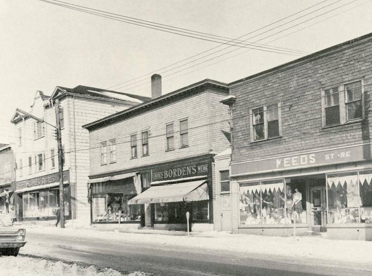 Commercial Street_Glace Bay_Cape Breton_Nova Scotia_1965 http://CaperMemories.Com