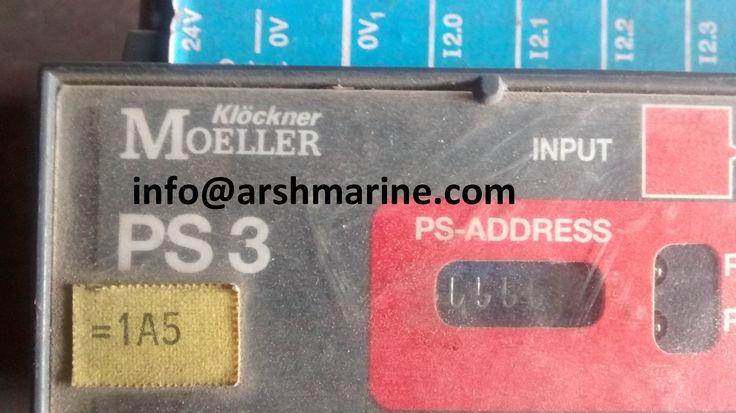 Klockner-Moeller PS3 Compact PLC www.arshmarine.com
