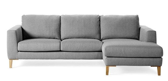 Produktbild - Madison, 2-sits soffa med schäslong