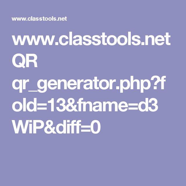 www.classtools.net QR qr_generator.php?fold=13&fname=d3WiP&diff=0