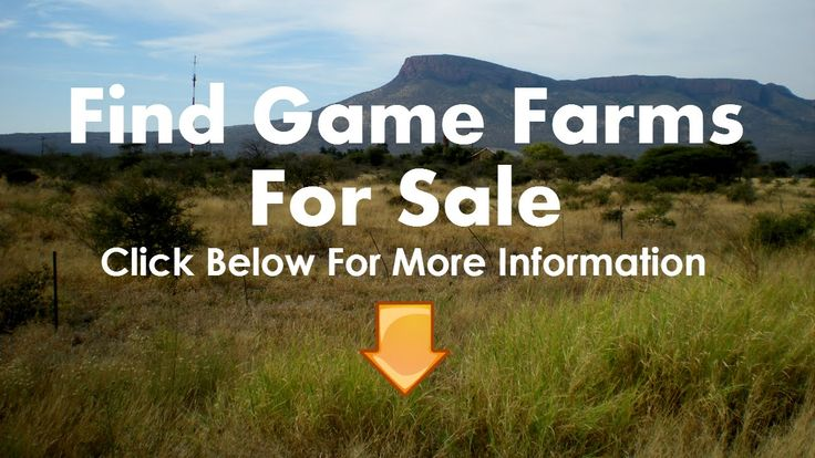 Game Farms For Sale in KZN