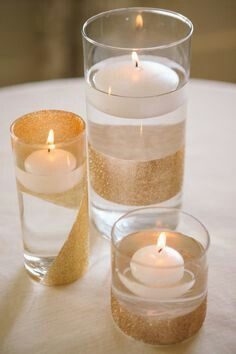 Candles in water?