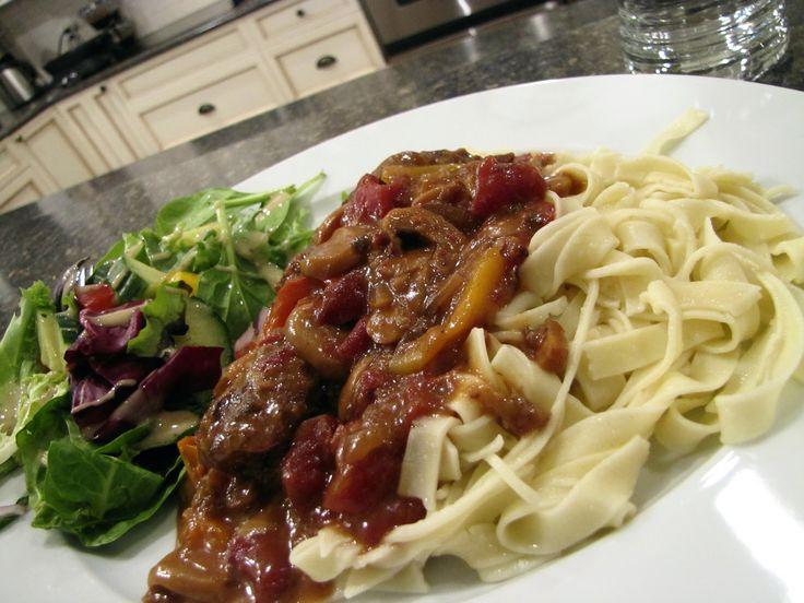 Mennonite Girls Can Cook: Skillet Steak Dinner