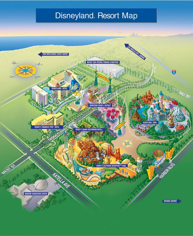 Best Resort Maps Images On Pinterest Maps Resorts And Disney - The 14 best theme parks in the world