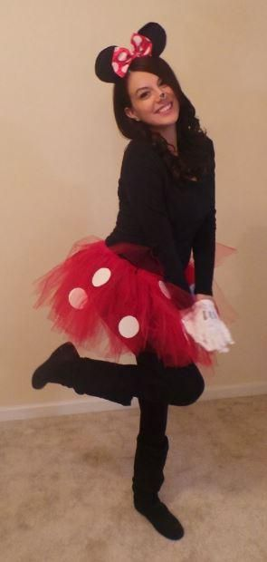 best 25 homemade minnie mouse costume ideas on pinterest. Black Bedroom Furniture Sets. Home Design Ideas