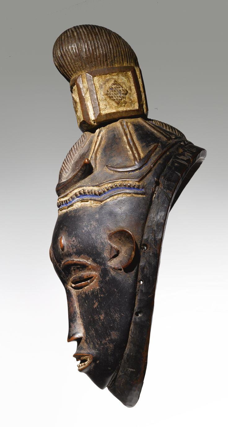 Guro Female Mask, Gu, Ivory Coast | lot | Sotheby's