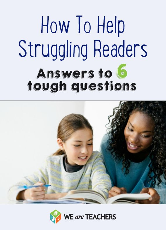 """""""How Can I Help My Struggling Readers?"""" Answers To Your"""