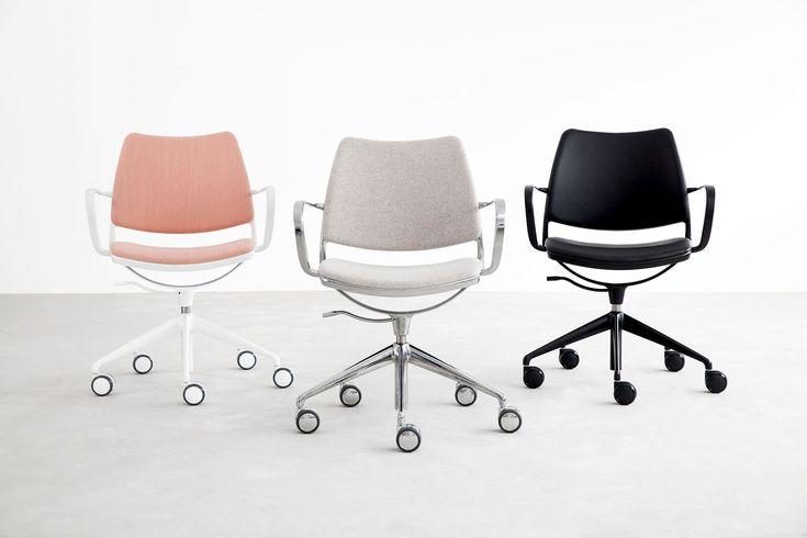 Gas Office Chair by Jesús & Jon Gasca for Stua. Available from Stylecraft.com.au