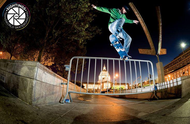 Josh Kalis, switch crooked grind