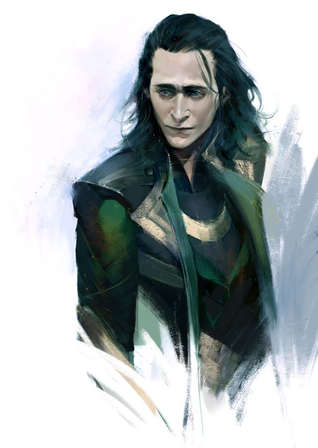 Loki by elena-nekrasova.deviantart.com on @DeviantArt