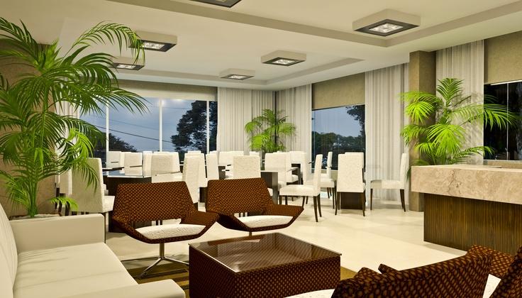 Salão de festas - Ibiza, São José dos Pinhais - Construtora Just