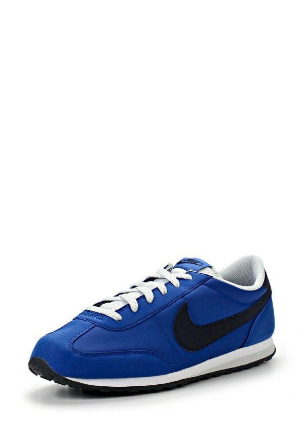 Кроссовки Nike / Найк мужские. Цвет: синий. Материал: текстиль. Сезон: Весна-лето 2014. С бесплатной доставкой и примеркой на Lamoda. http://j.mp/WN9t0F