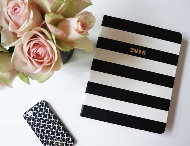 Agenda 2016 by Kate Spade New York⎟STYLE NOTES
