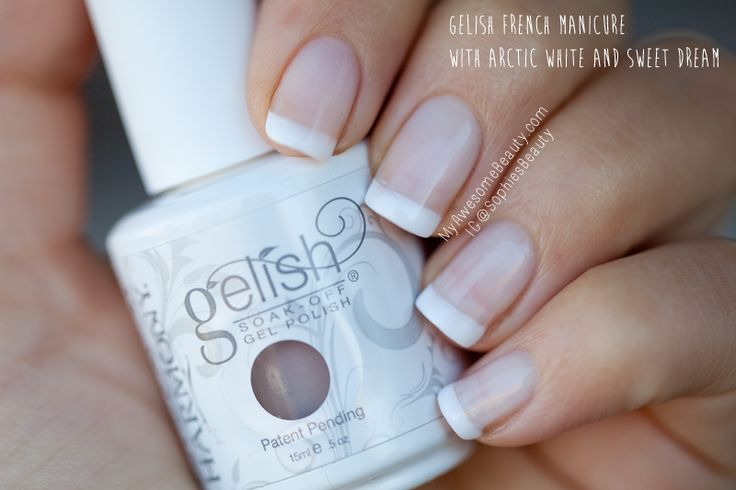 gel french manicure - Google Search
