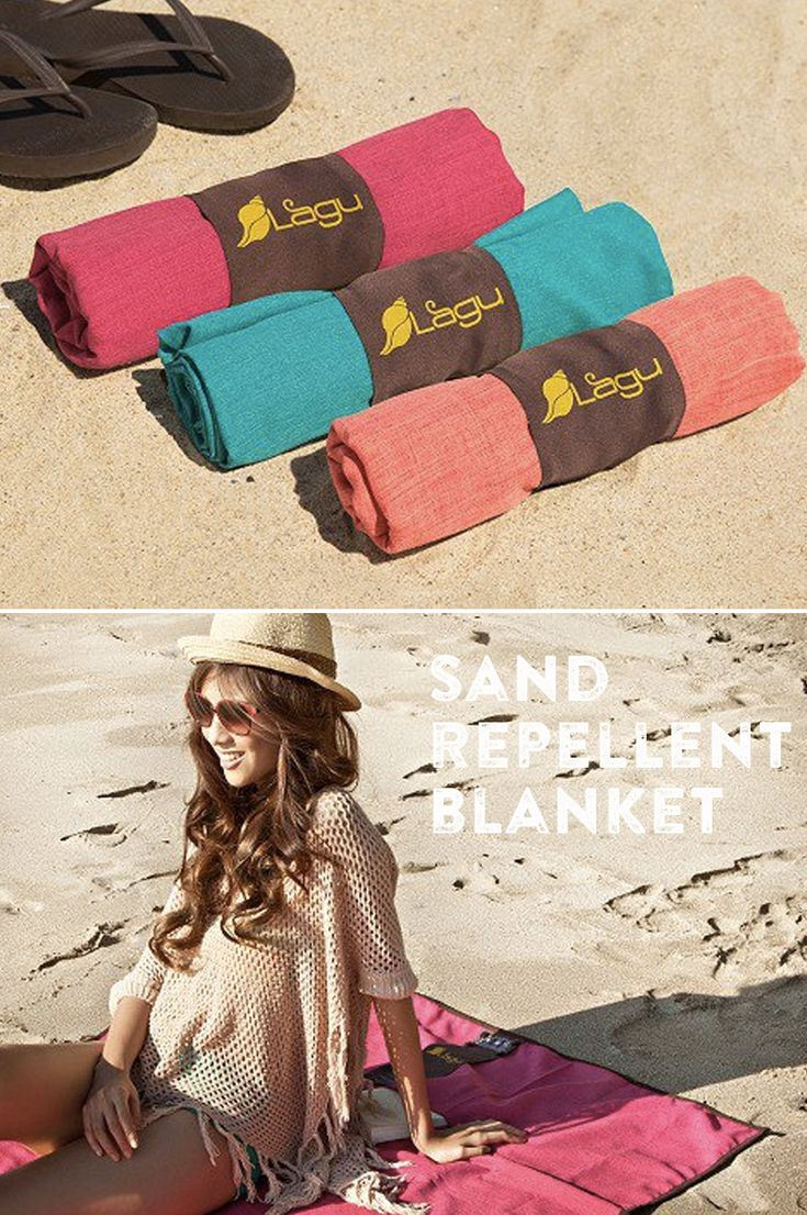 This blanket ensures you keep the sand at the beach, not in your car or at home.
