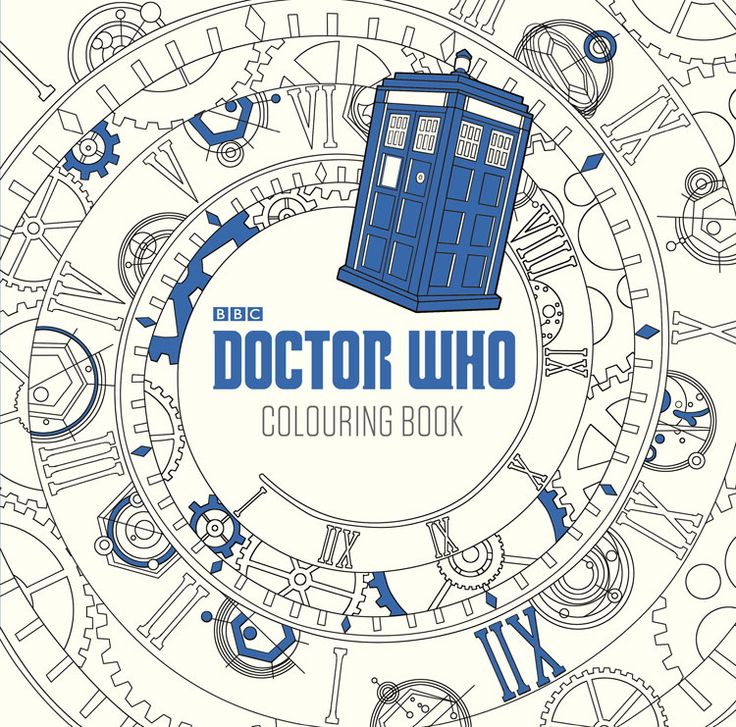 17 best doctor who coloring book images on Pinterest | Coloring ...