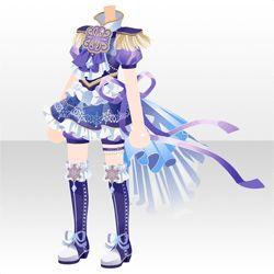 上半身 インナー クリスタルバックレースパンツスタイルaアクアブルー アニメの服装 レースパンツ パンツスタイル