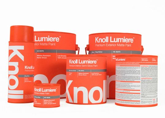 knoll lumiere paint