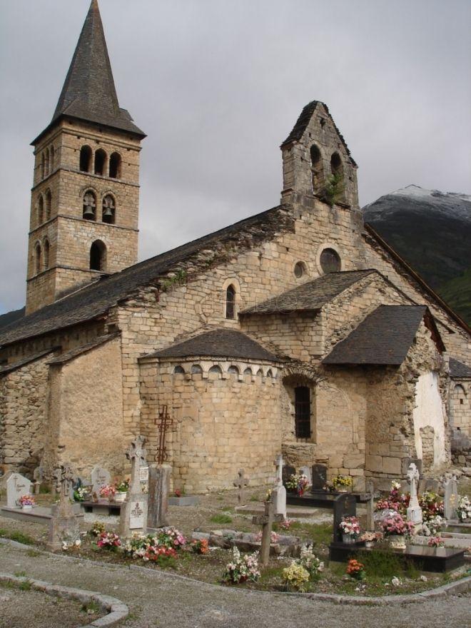 Santa María de Arties en Lleida