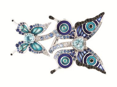 Lalique shines at the Jewellery Show London
