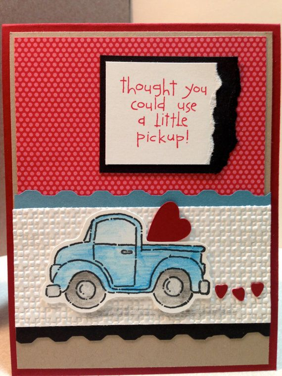 Loads of Love Thinking of You Pickup Card by TreasuresForACure, $3.00