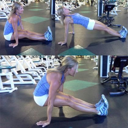 Abs Snails... great to get a really strong core...