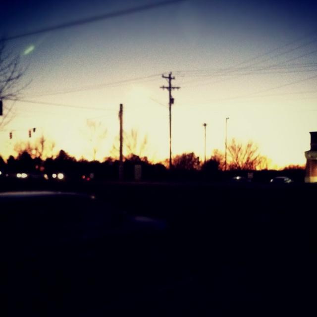 The last sunset of 2011. EMG