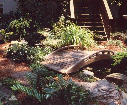 A Low Profile, Asian Inspired Bridge Makes For A Nice Purposeful Accent  Through