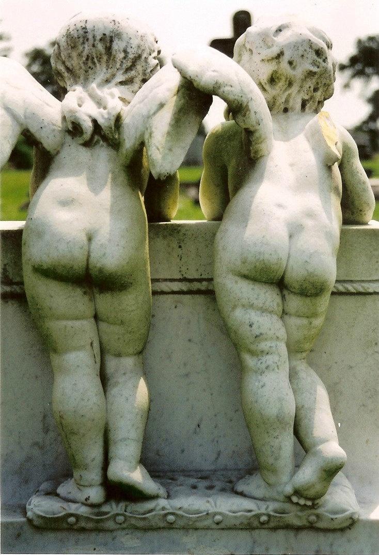 Booty Call Twin Cherubs Original Colour by ItalianGirlinGeorgia