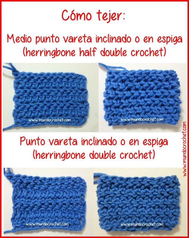 98 best Puntos de crochet images on Pinterest   Patrones de ...