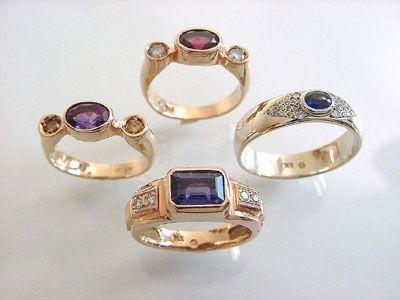 Some Precious And Semiprecious Gemstones