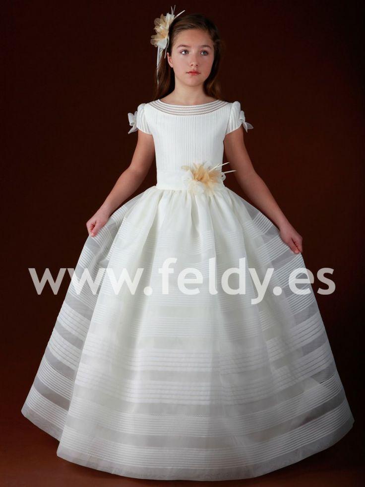 Vestidos de primera comunión con velo (2) | Vestidos de primera ...