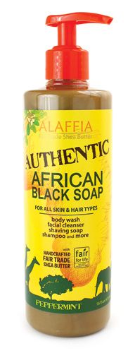 Authentic African Black Soap Peppermint :) Love Your Locs at DreadStop.Com - Follow us @DreadStop, +dreadstop #dreadlocks