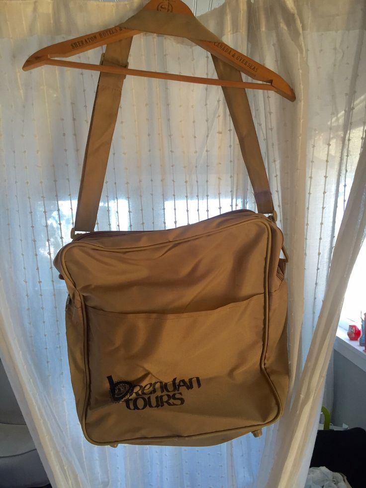 A personal favorite from my Etsy shop https://www.etsy.com/listing/470200125/vintage-brendan-tours-travel-bag