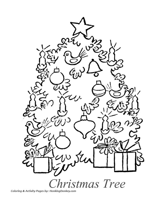 Night Before Christmas Coloring Pages And Away They All Flew Like The Down Of A Thistle