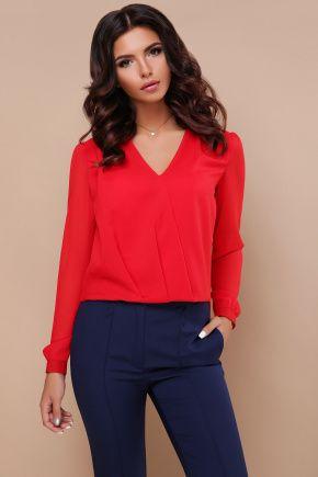b2cb5c497df блуза Айлин д р. Цвет  красный