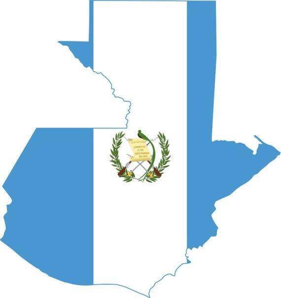 2 Pieces Guatemala Outline Map Flag Vinyl Decals Stickers Full Color Weather Proof U S A Free Shipp Guatemala Flag Flag Art Guatemala