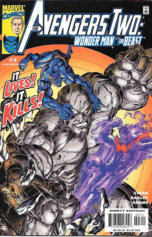 It's Alive !!__Writer Roger Stern , penciler And cover by Mark Bagley , The Story __ It's the crazy conclusion to the Avengers Alumni's wild road trip! This is it?yes, we really mean it?because It, th