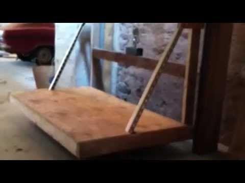 Best 25 garage attic ideas on pinterest attic ladder for Garage attic lift elevator