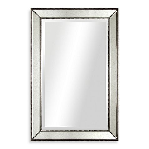 mirror 20 x 36. 30-inch x 20-inch beaded antique mirror 20 36 1