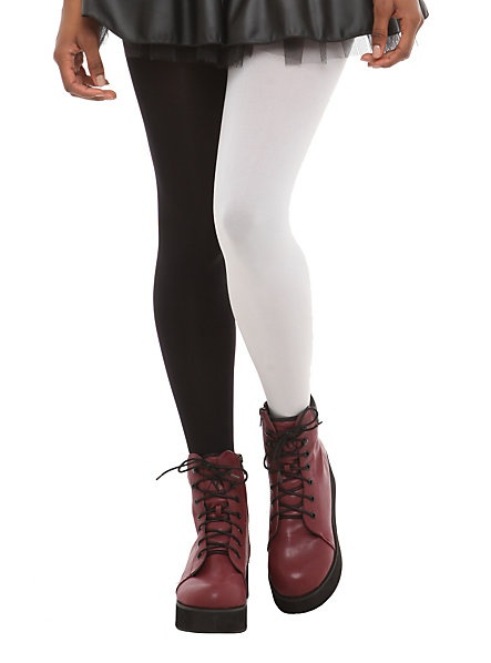 Black and white tights | Leg | Pinterest