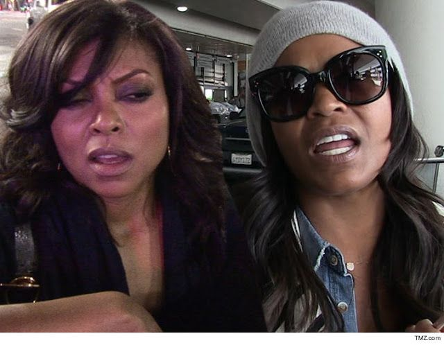 Taraji P. Henson And Nia Long Engaged In Hot Battle On Empire Set