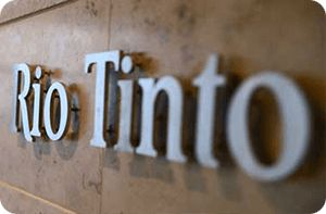 Rio Tinto Stocks Weaken after Iron Ore Rout